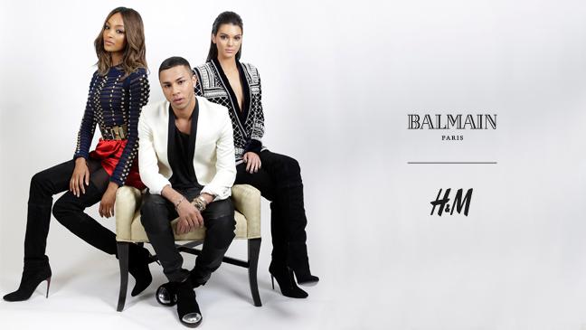 reklama na kolekci pro H&M