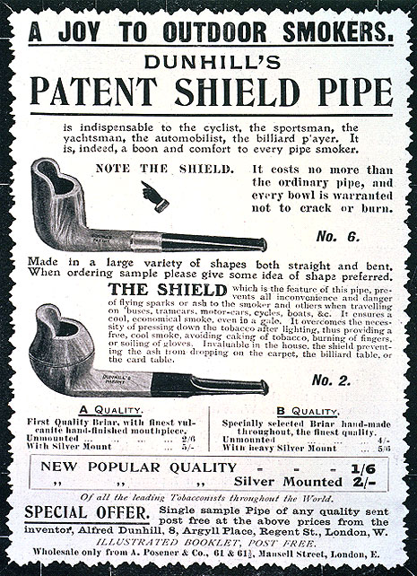 patent shield pipe dýmka